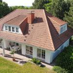 Villa Terrasse Ost und Garten