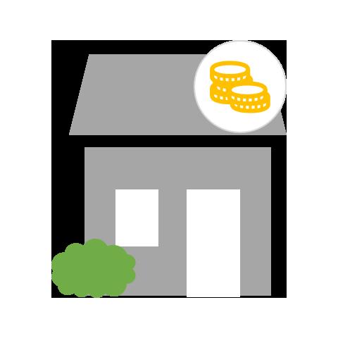 Haus Paket Verkauf Standard bis 120qm